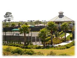 Citrus Hills Tennis courts.