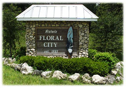 Historic Floral City Sign.