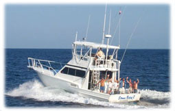Boat fishing in the Gulf of Mexico.