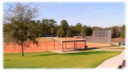 Baseball field in citrus springs.