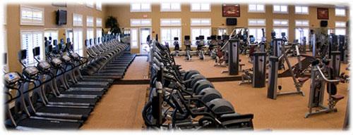 Terra Vista Spa gym.