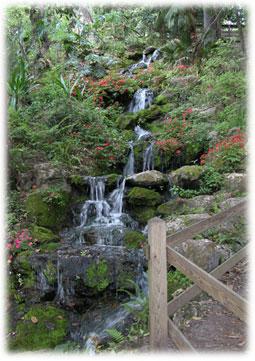 Waterfall in Rainbow Springs State Park.