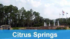 Citrus springs entrance.