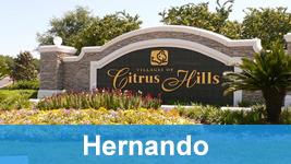 Entrance to Citrus Hills.