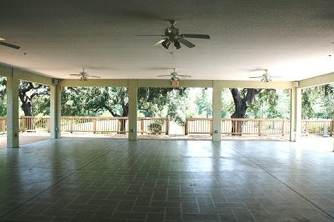 Out door area of rental facility.