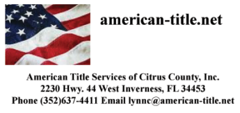 American Title Services of Citrus County Logo